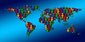 mapa świata dane osobowe